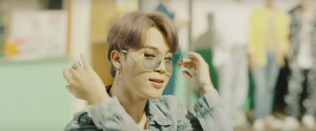 These Are The Retro Tinted Sunglasses Bts Jimin Wears In Dynamite The Boardwalk