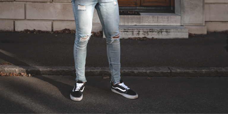 Shoes with skinny jeans