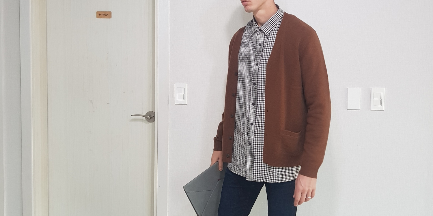 Hear Me Out: Brown Cardigans Are Cooler Than You Think