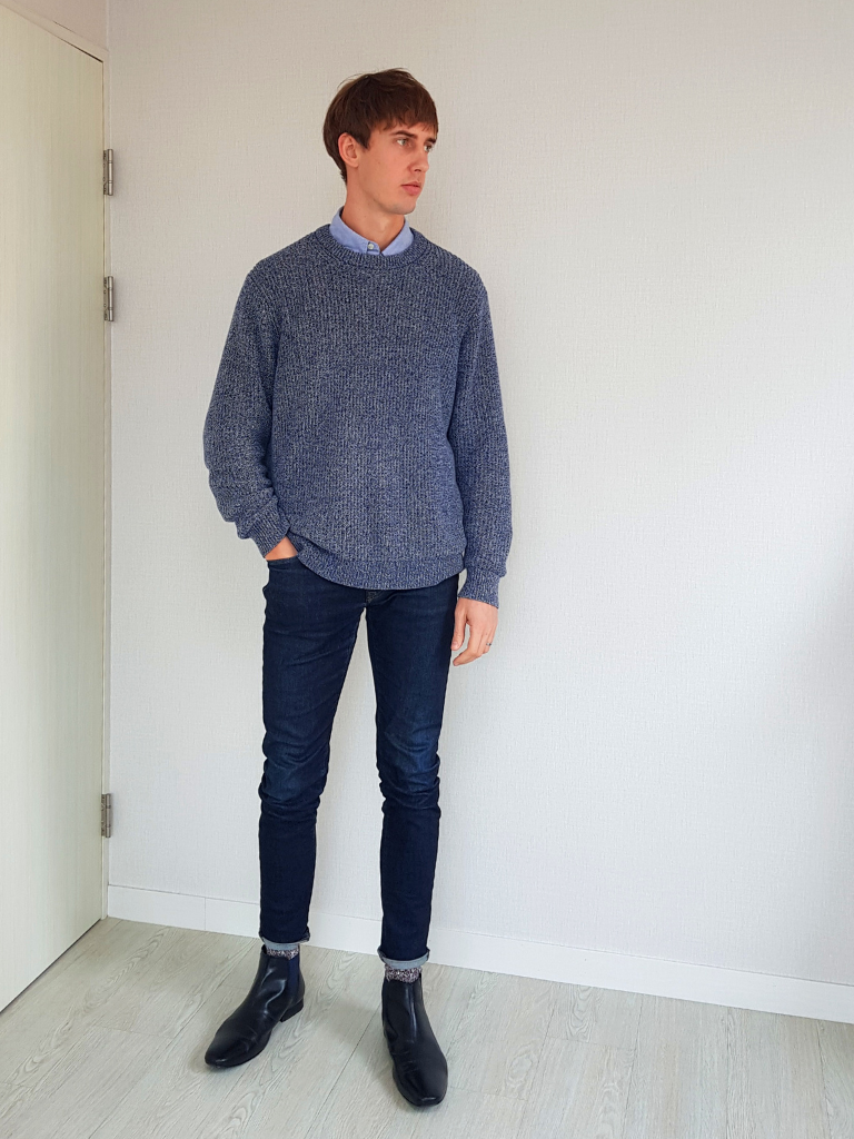 Chelsea Boots Sweater