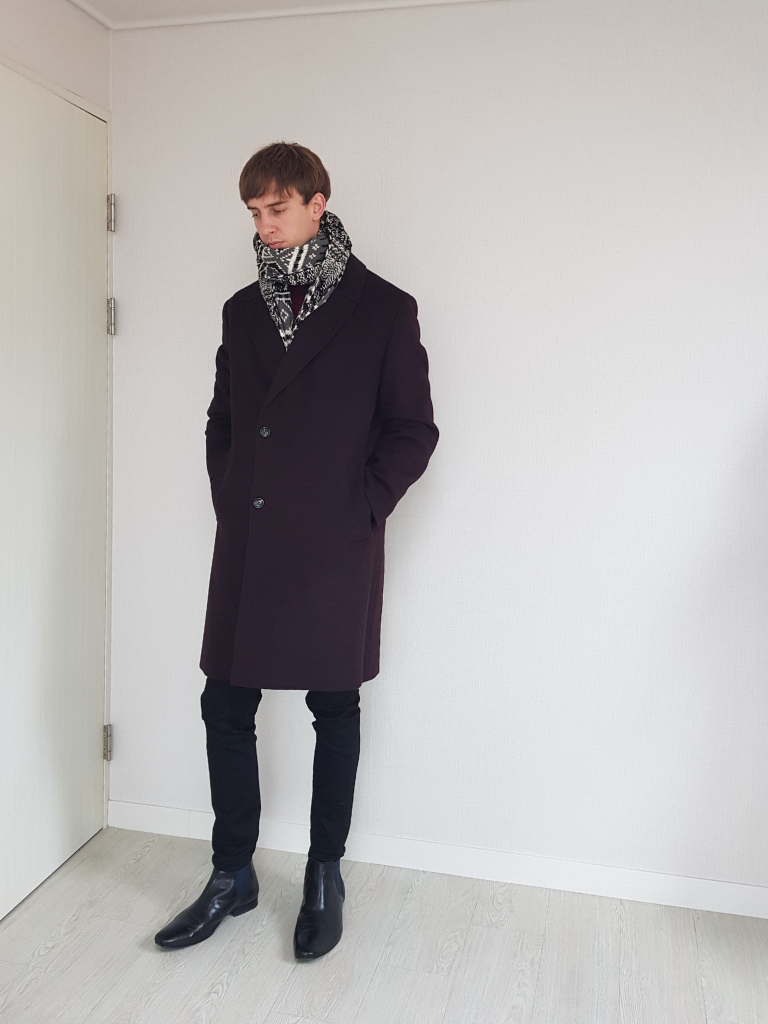 Chelsea Boots Coat Scarf