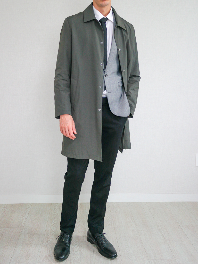 Gray Blazer Mac