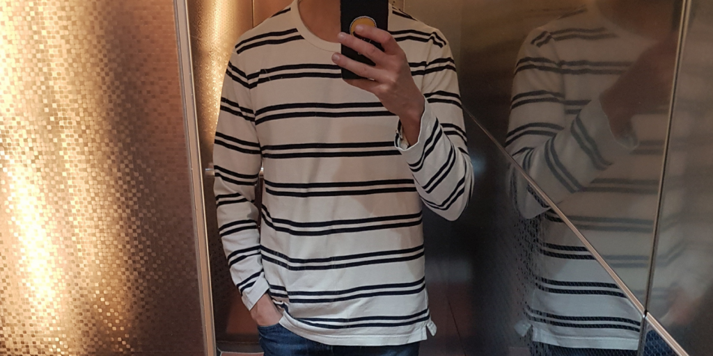 How to Wear a Breton Shirt men
