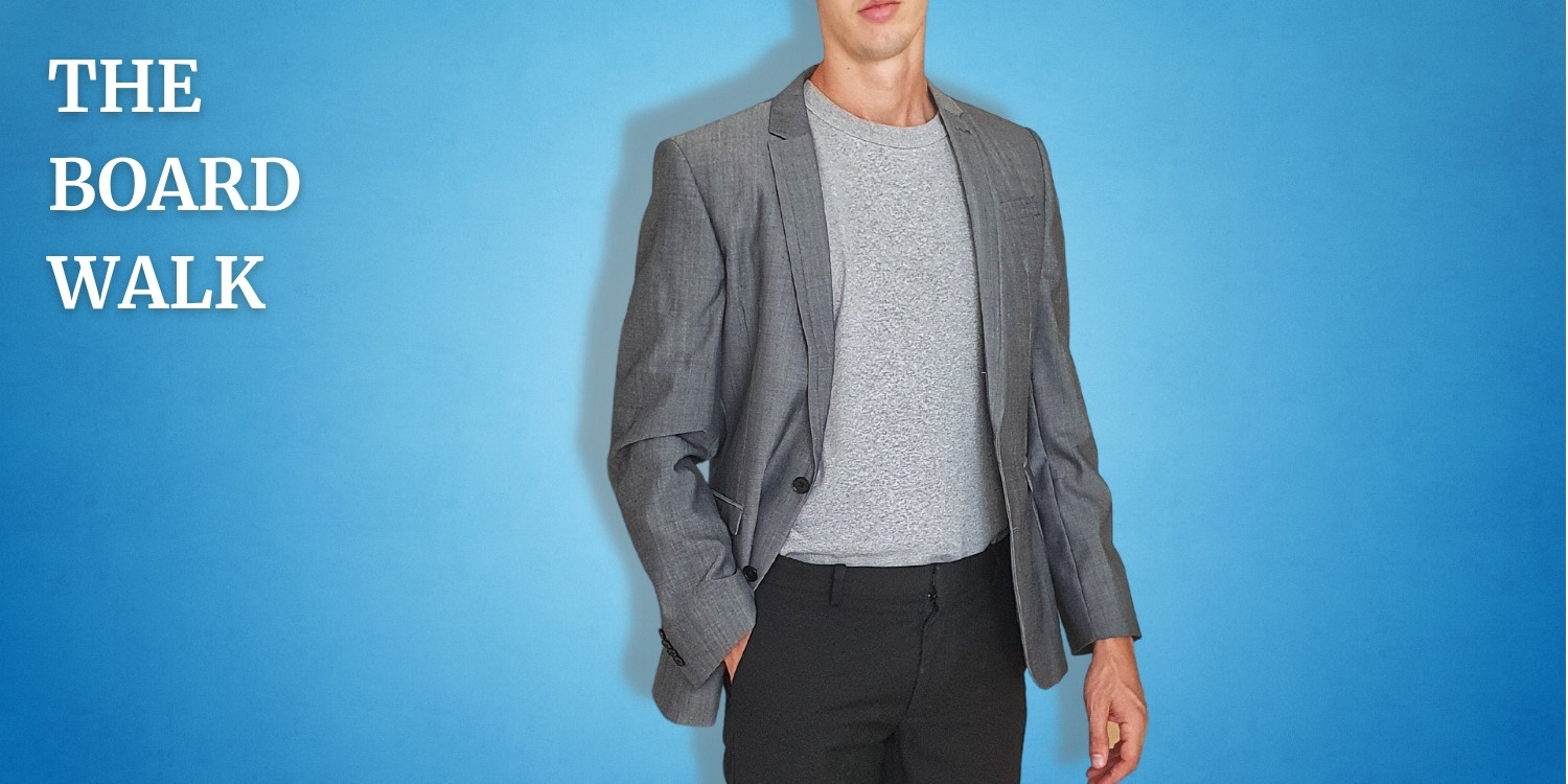 What to Wear with a Gray T-Shirt